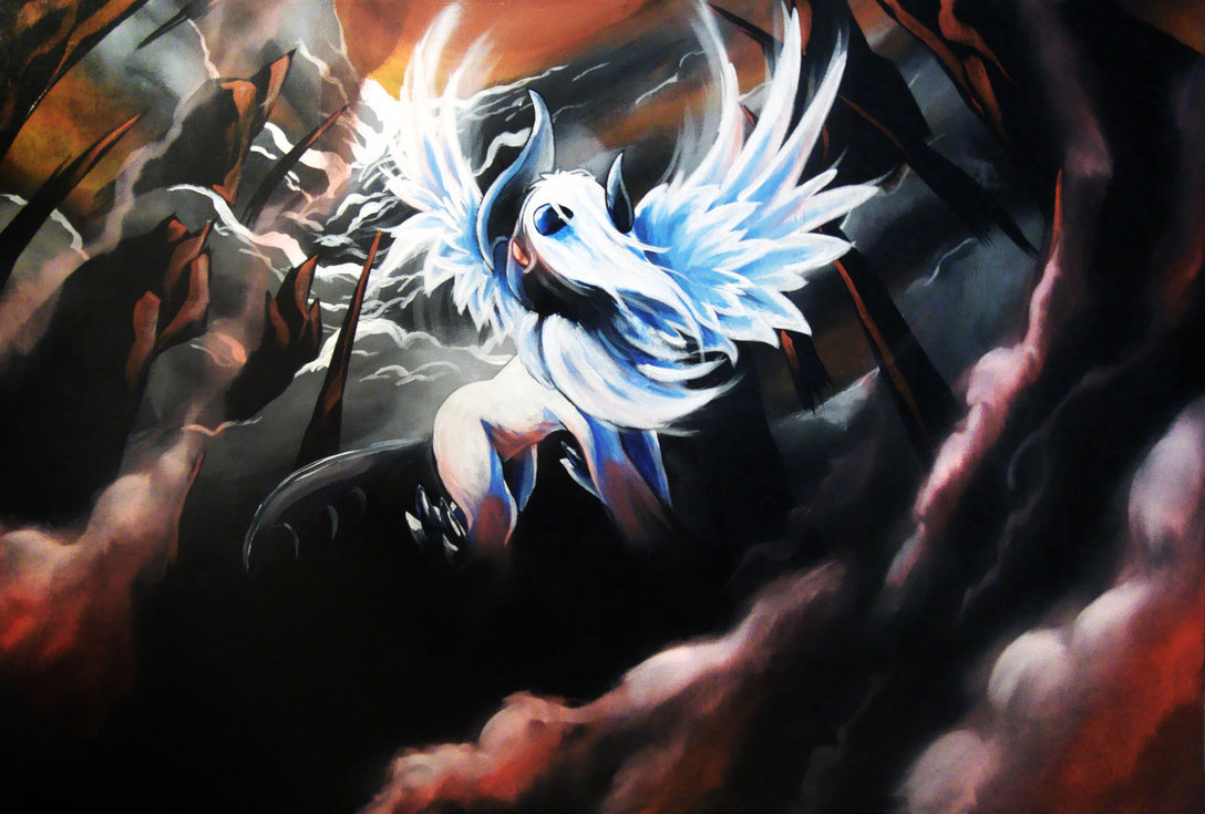 Absol Art by Unknown